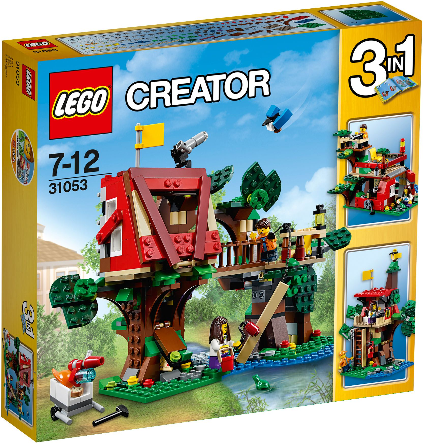 LEGO® 31053 Creator Baumhausabenteuer, Konstruktionsspielzeug