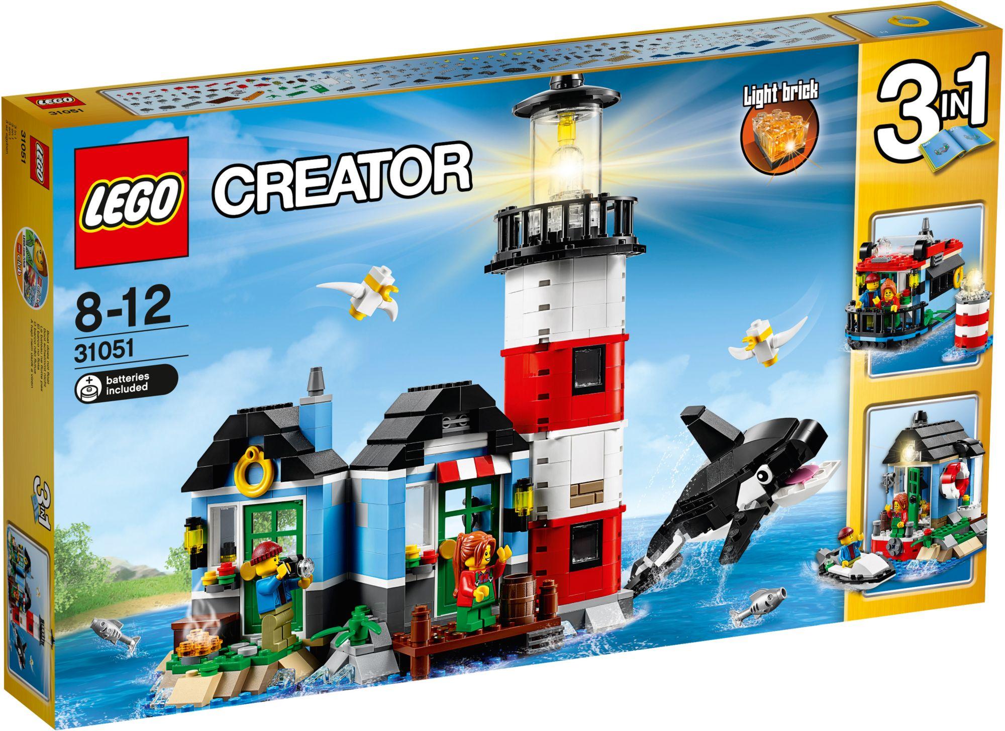 LEGO® 31051 Creator Leuchtturm-Insel, Konstruktionsspielzeug