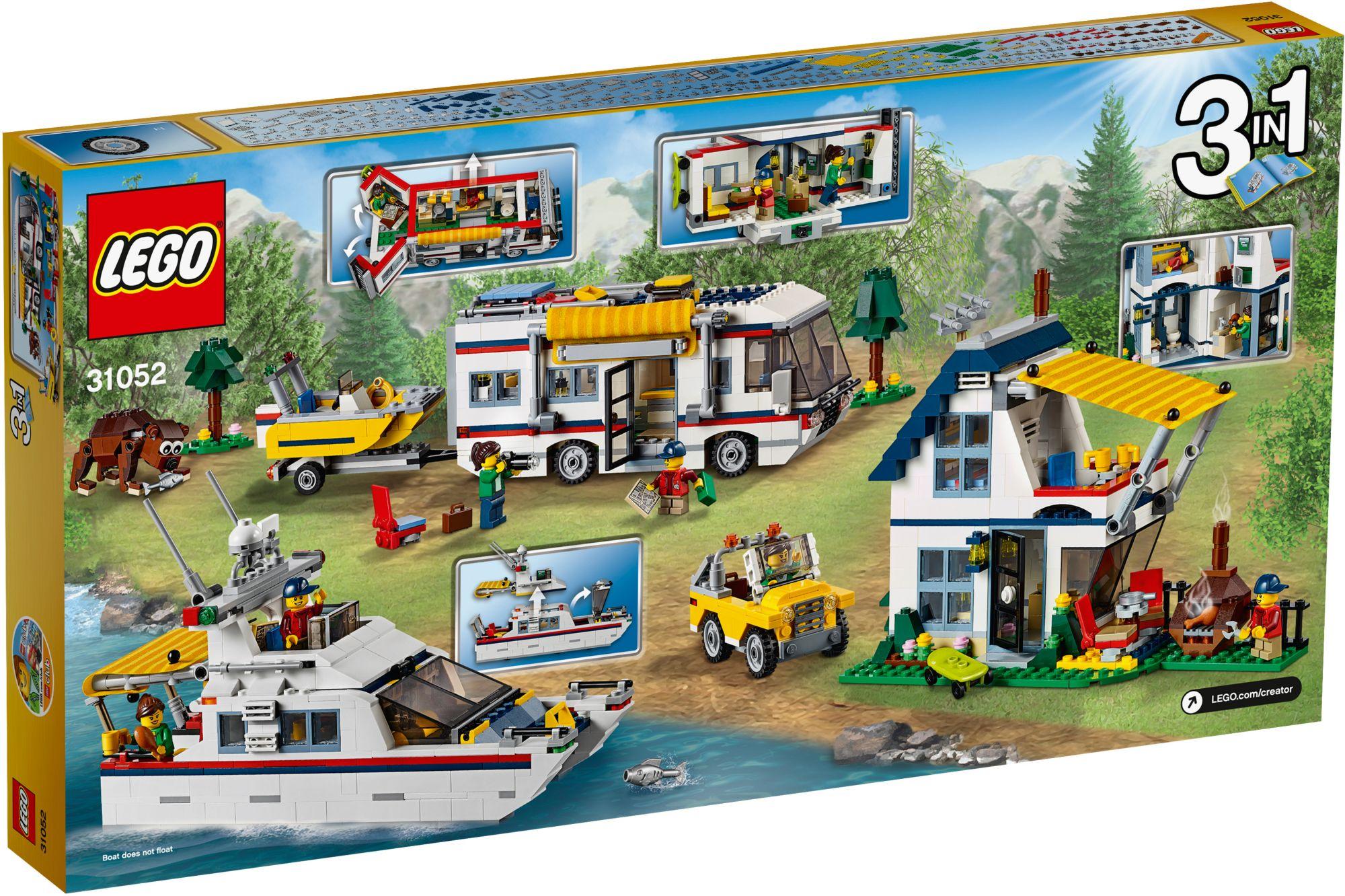 LEGO® 31052 Creator Urlaubsreisen, Konstruktionsspielzeug