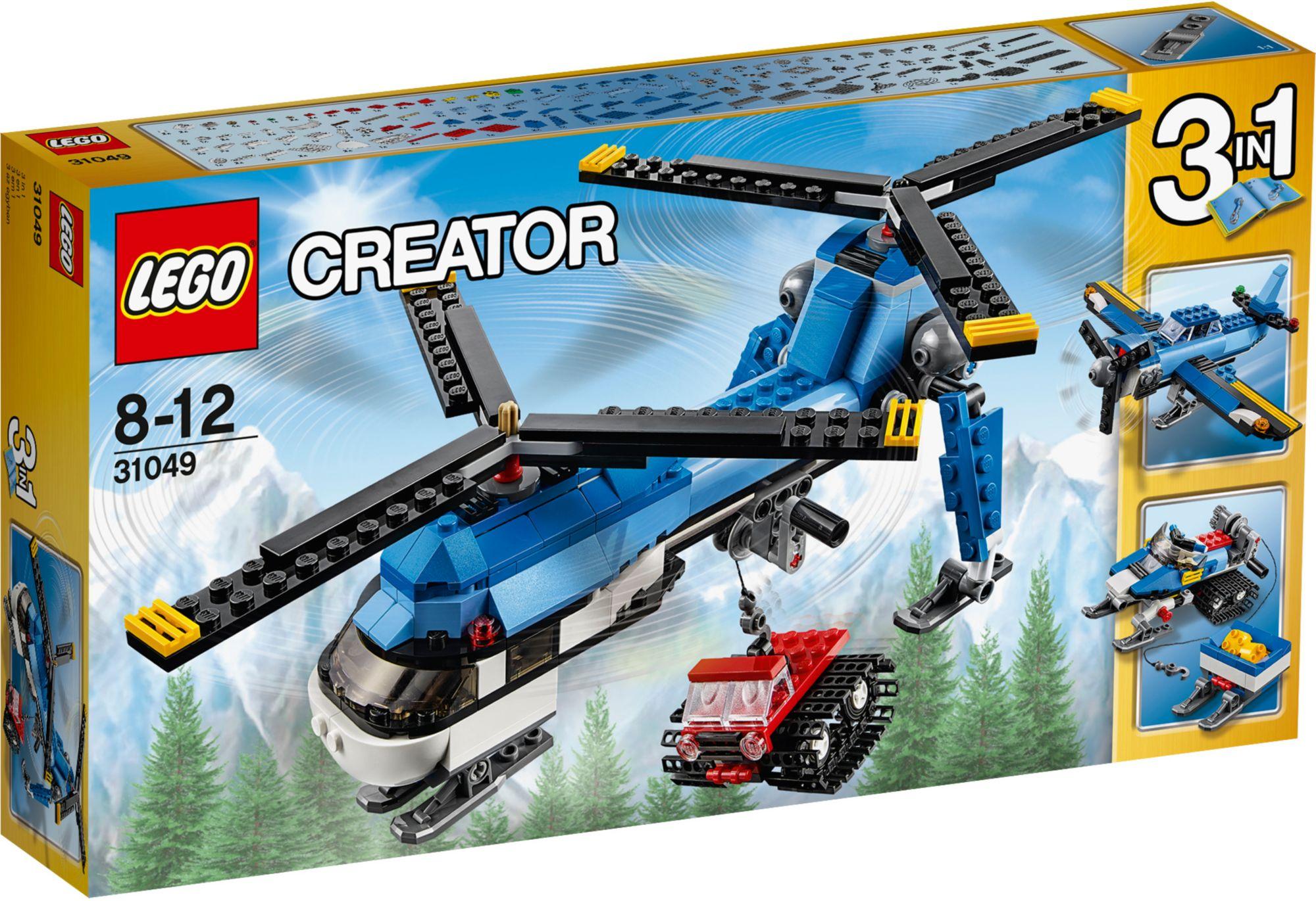 LEGO® 31049 Creator Doppelrotor-Hubschrauber, Konstruktionsspielzeug