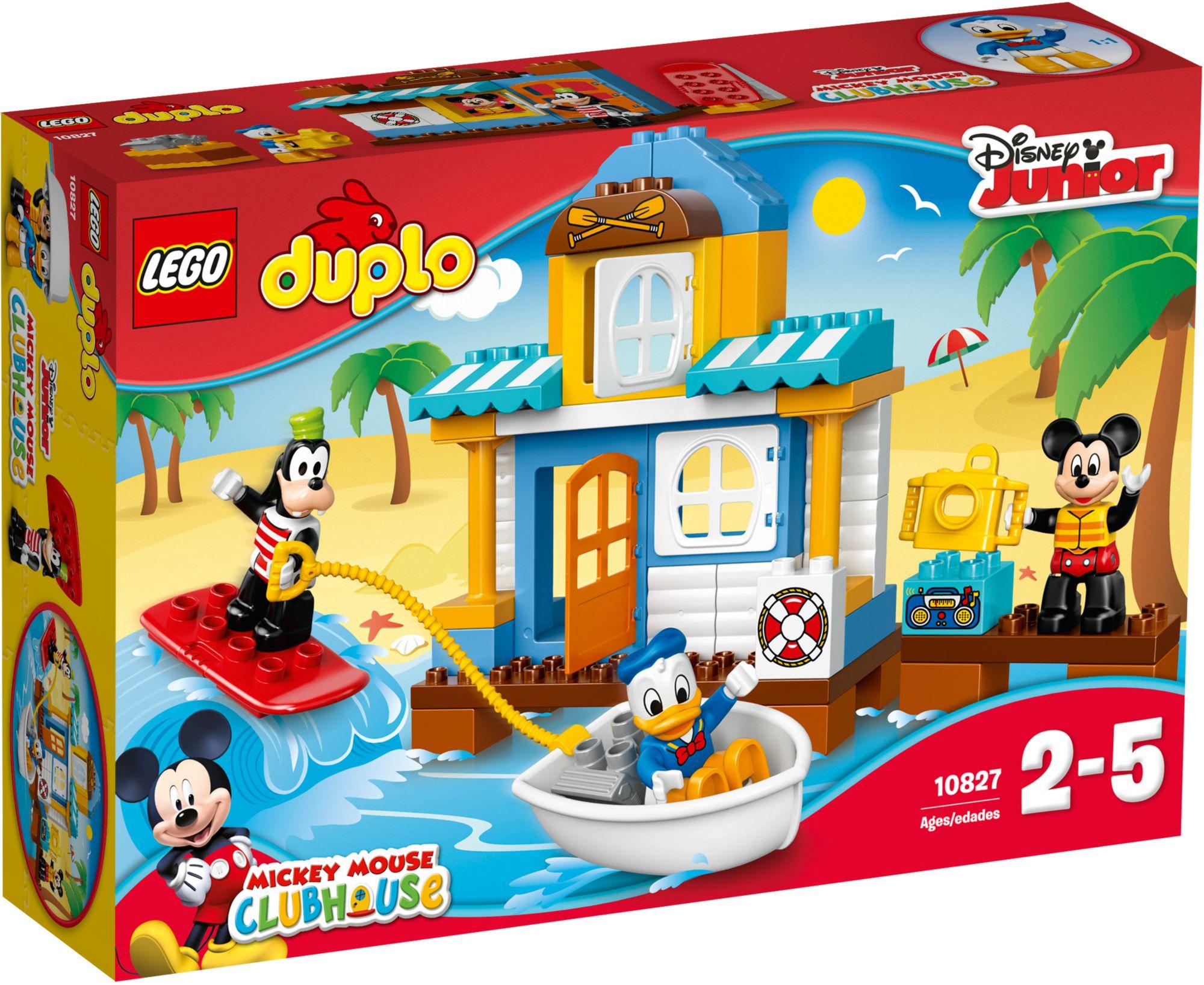 LEGO® 10827 DUPLO Mickys Strandhaus, Konstruktionsspielzeug