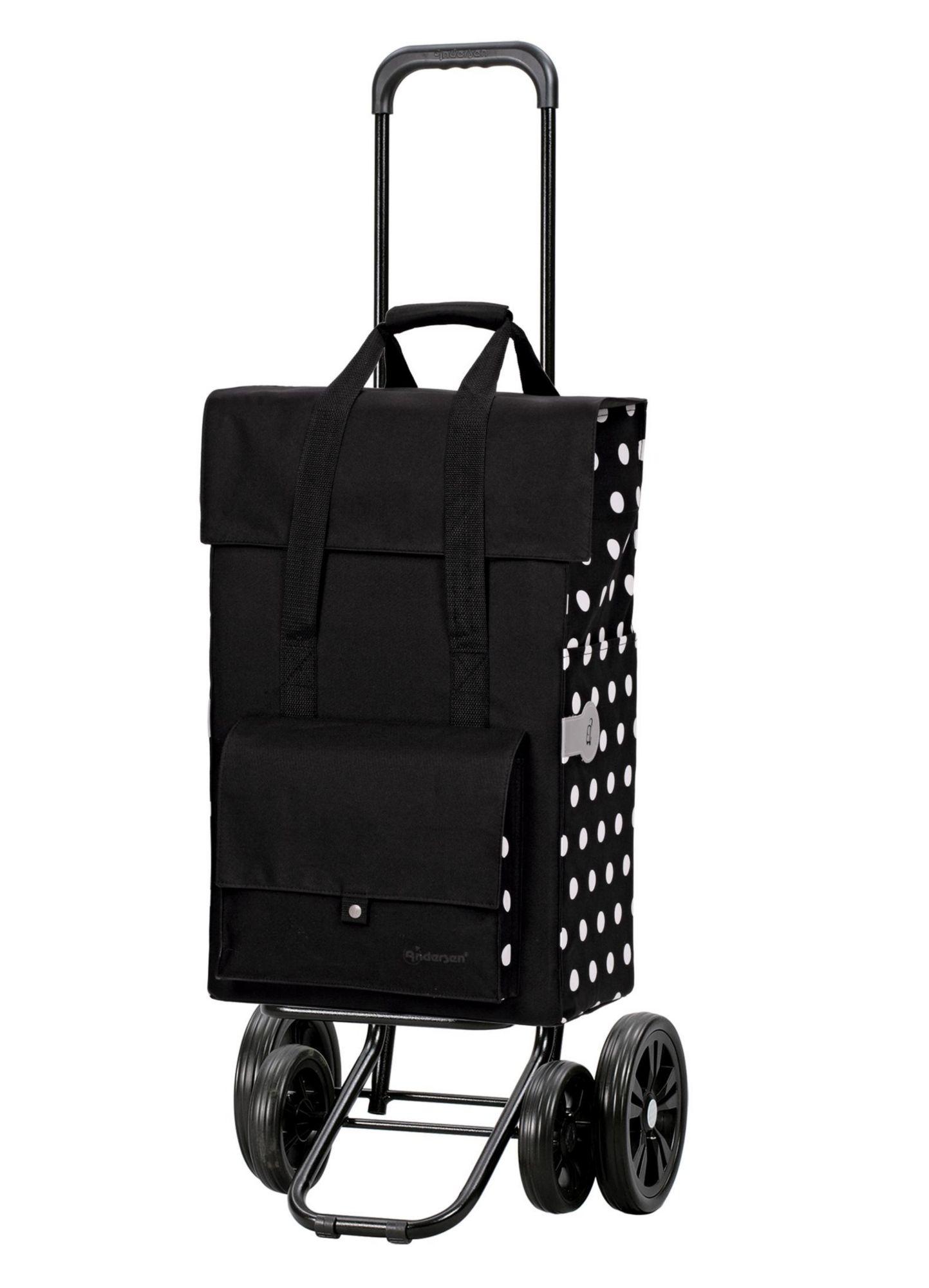 ANDERSEN Andersen Einkaufstrolley »Quattro Shopper« mit Alu Fahrgestell