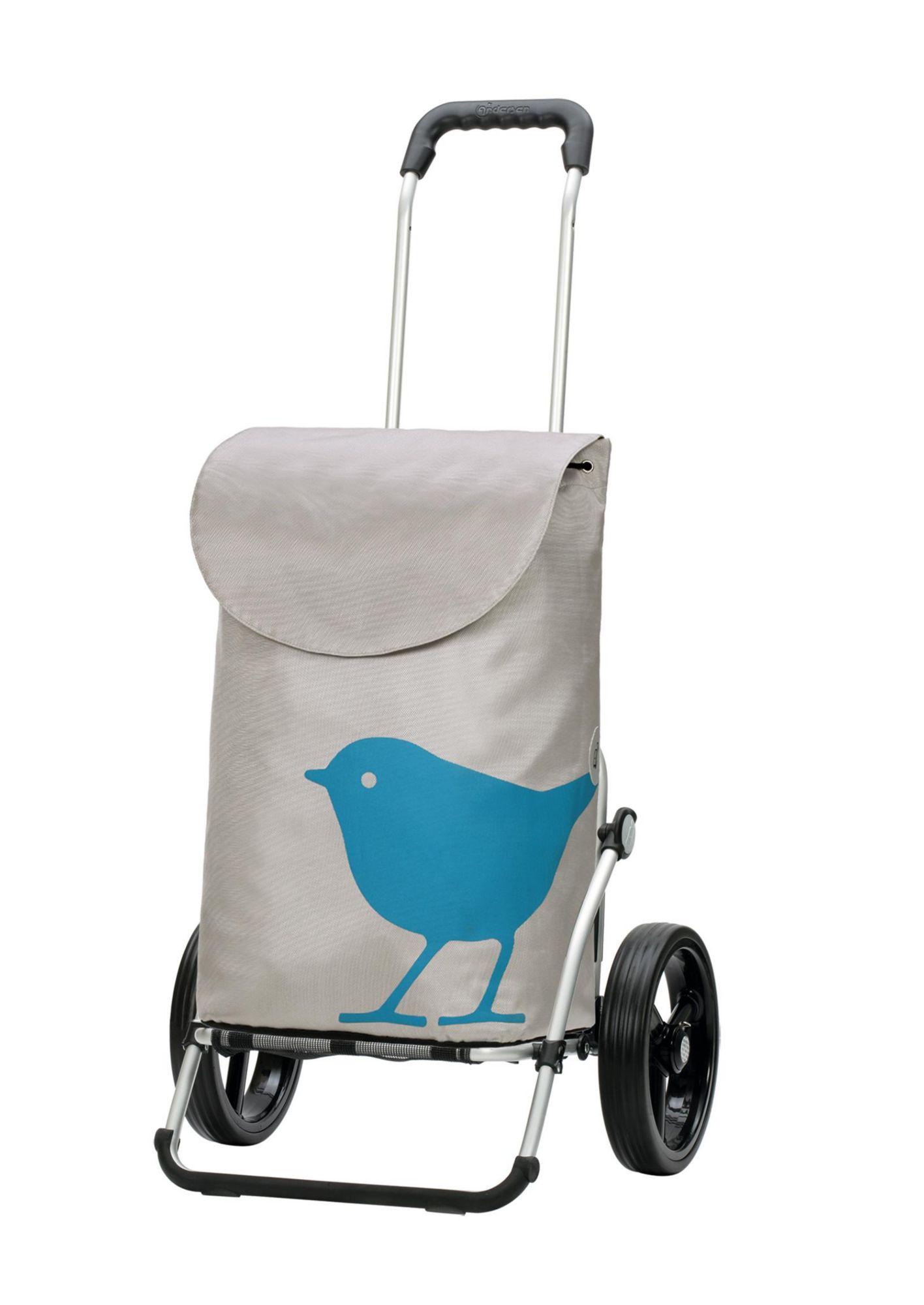 ANDERSEN Andersen Einkaufstrolley »Royal Shopper® Bird« mit Alu Fahrgestell