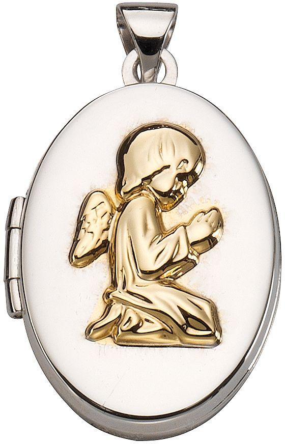 FIRETTI firetti Anhänger Medaillon, »betender Engel«