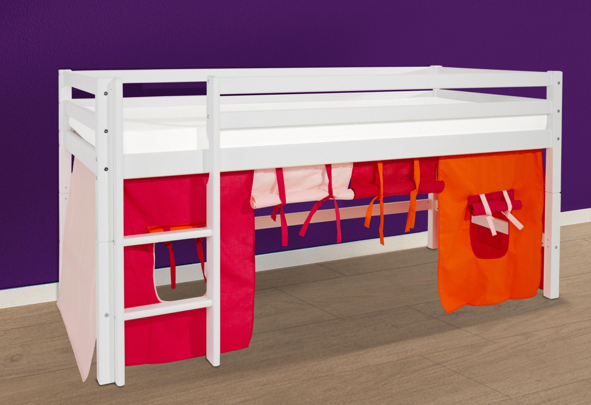 HOPPEKIDS Hoppekids Halbhohes Bett »Multicolor«