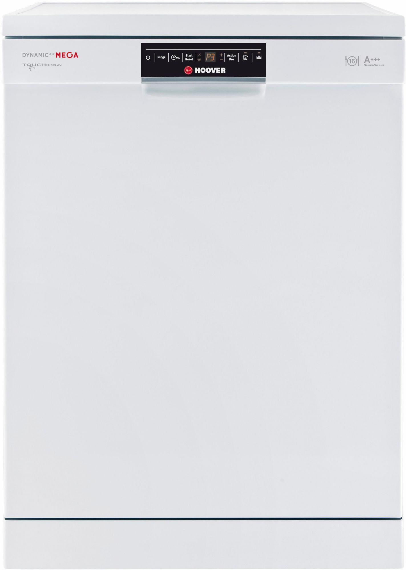 HOOVER Hoover Geschirrspüler DYM 893/T, A+++, 10 Liter, 16 Maßgedecke