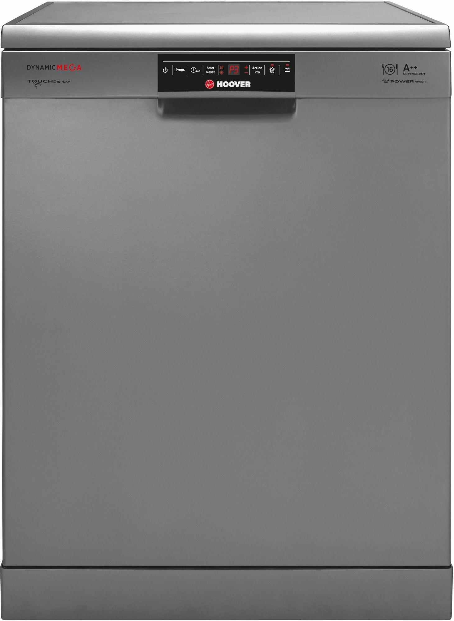 HOOVER Hoover Geschirrspüler DYM 862X/T, A++, 10 Liter, 16 Maßgedecke