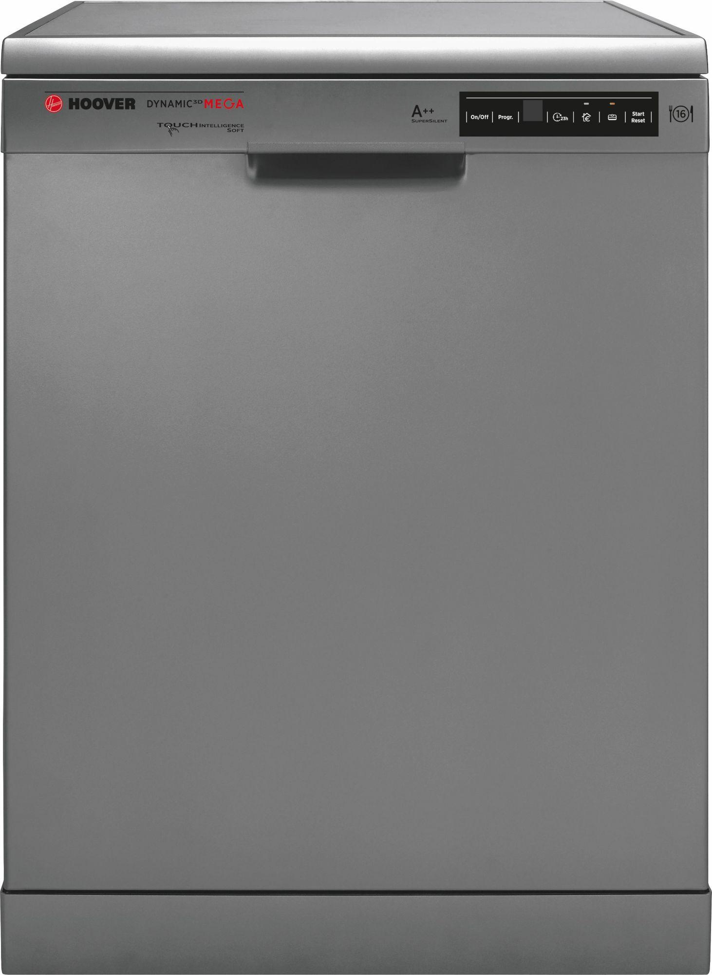 HOOVER Hoover Geschirrspüler DYM 763X/S, A++, 10 Liter, 16 Maßgedecke