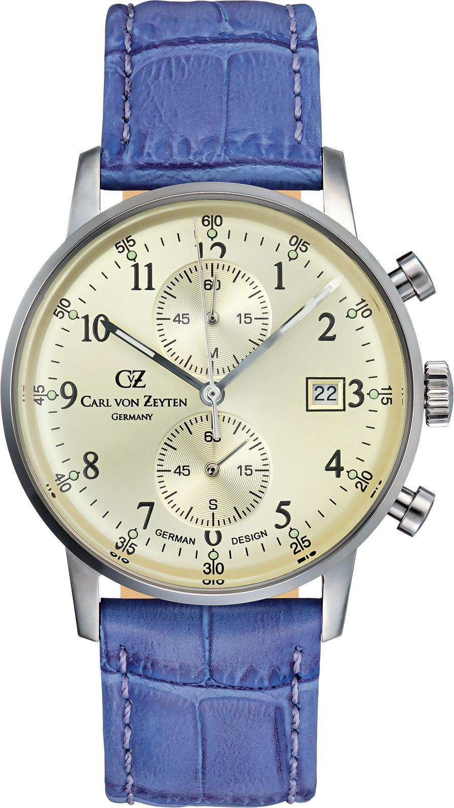 CARL VON ZEYTEN Carl von Zeyten Chronograph »Todtnau CVZ0012CHBR«