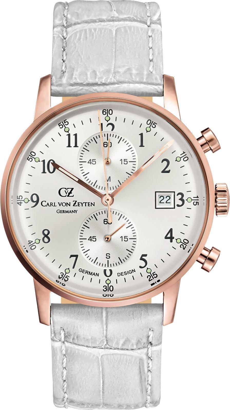 CARL VON ZEYTEN Carl von Zeyten Chronograph »Todtnau CVZ0012RSL«