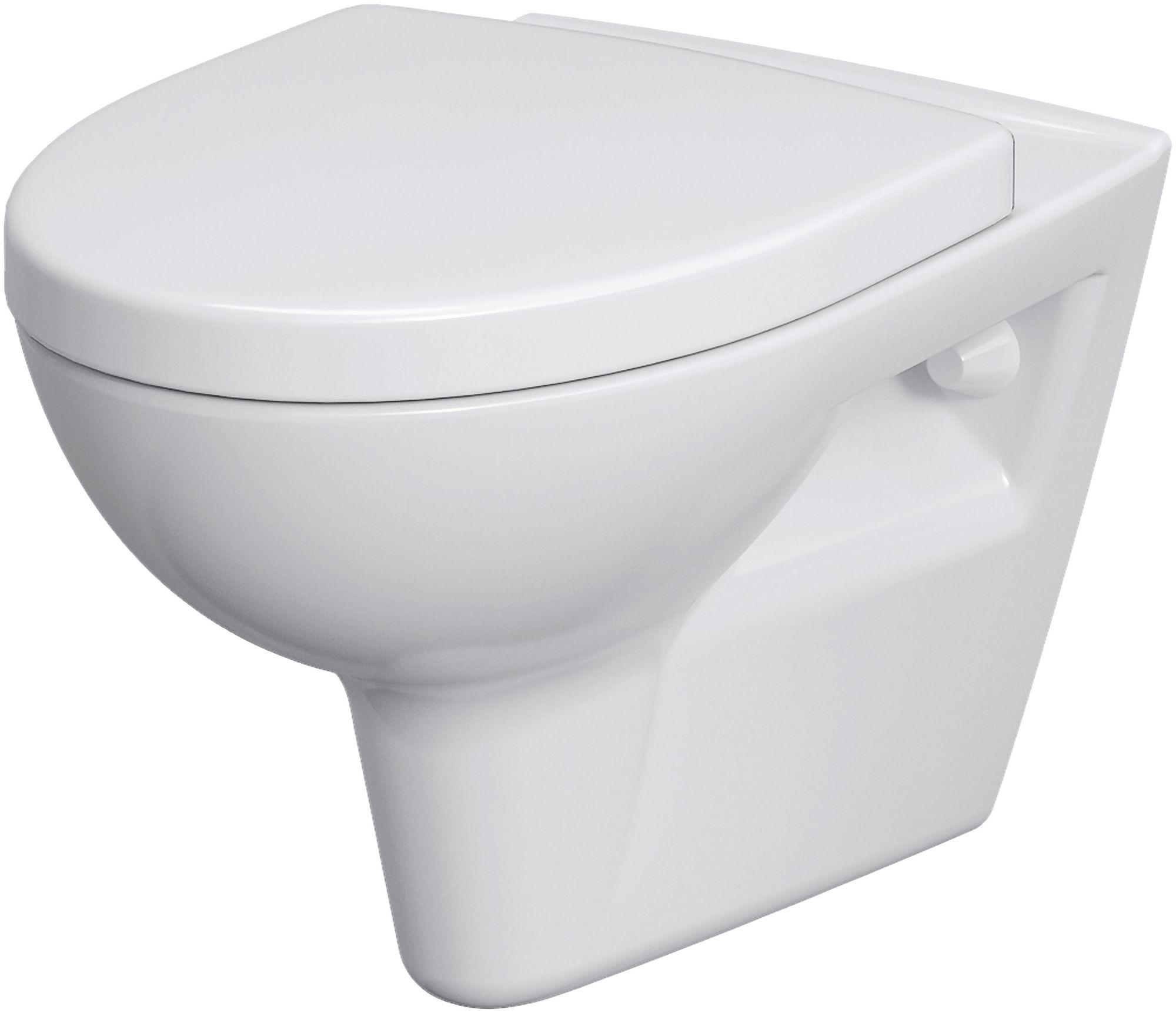 CORNAT Cornat Komplett-Set: Wand WC »Montego spülrandlos«