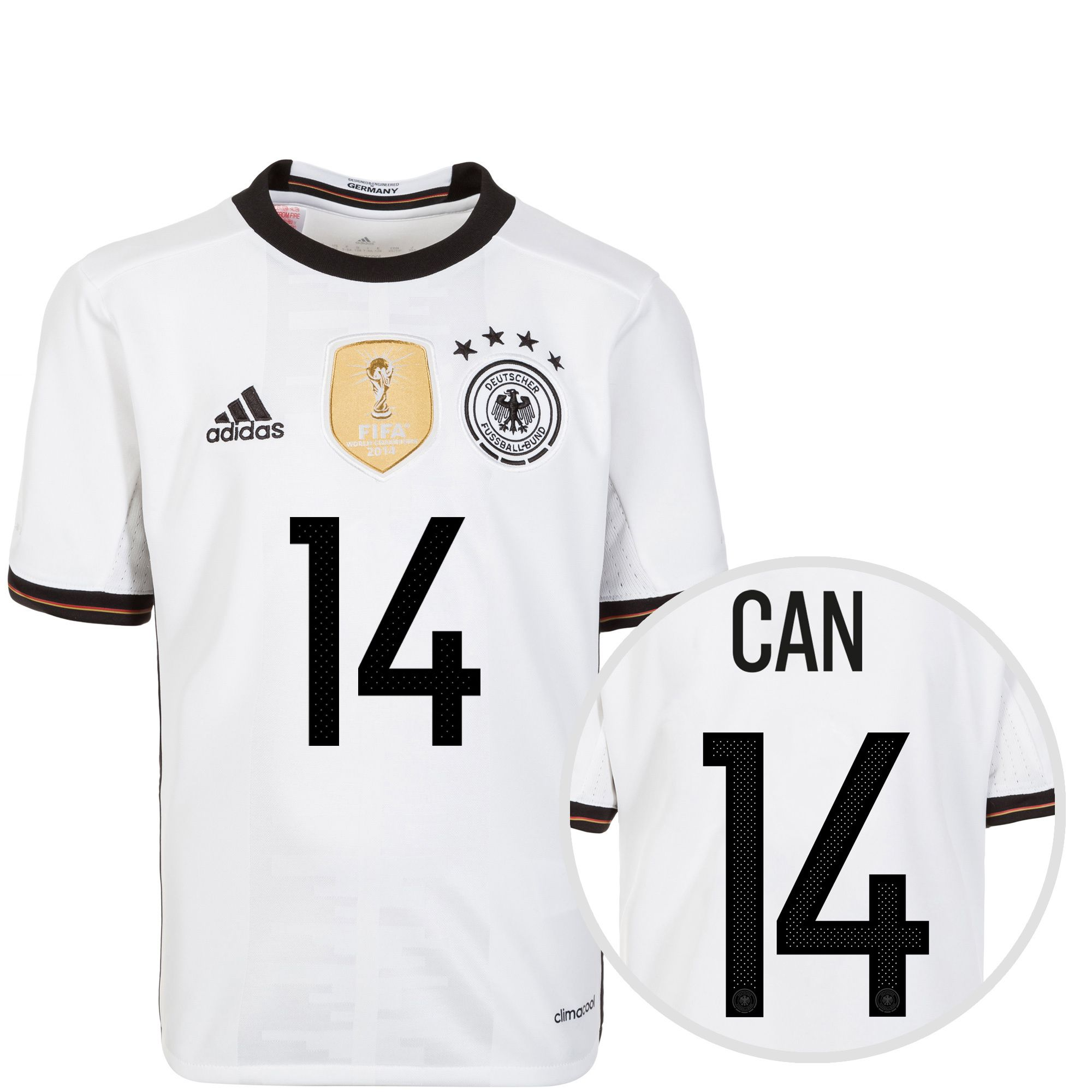 ADIDAS PERFORMANCE adidas Performance DFB Trikot Home Can EM 2016 Kinder