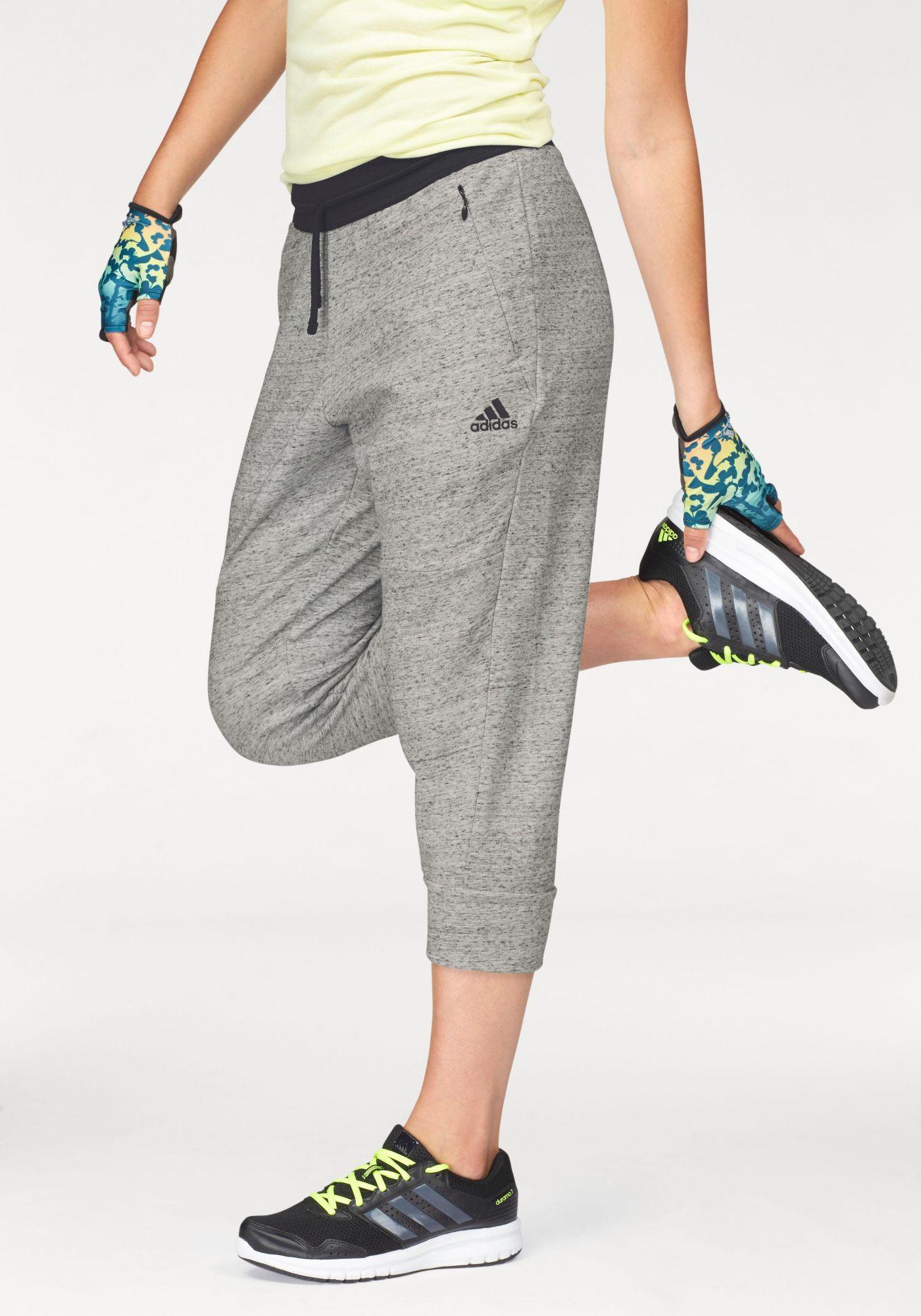 ADIDAS PERFORMANCE adidas Performance 3/4-Hose »COTTON FLEECE 3/4 PANT«