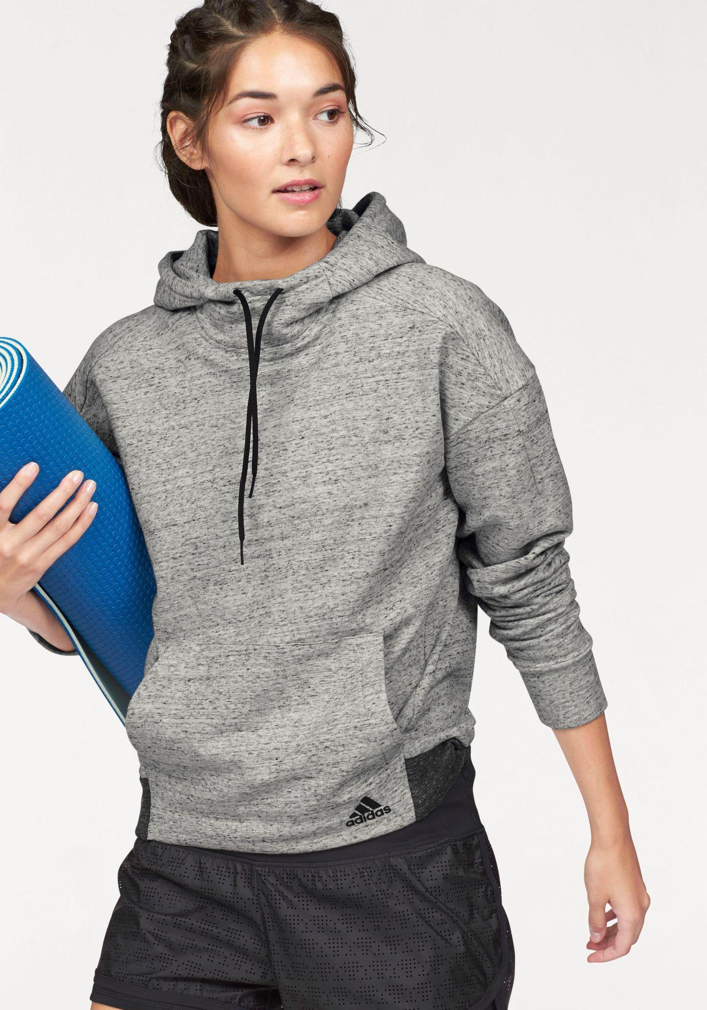 ADIDAS PERFORMANCE adidas Performance Kapuzensweatshirt »COTTON FLEECE HOODIE«