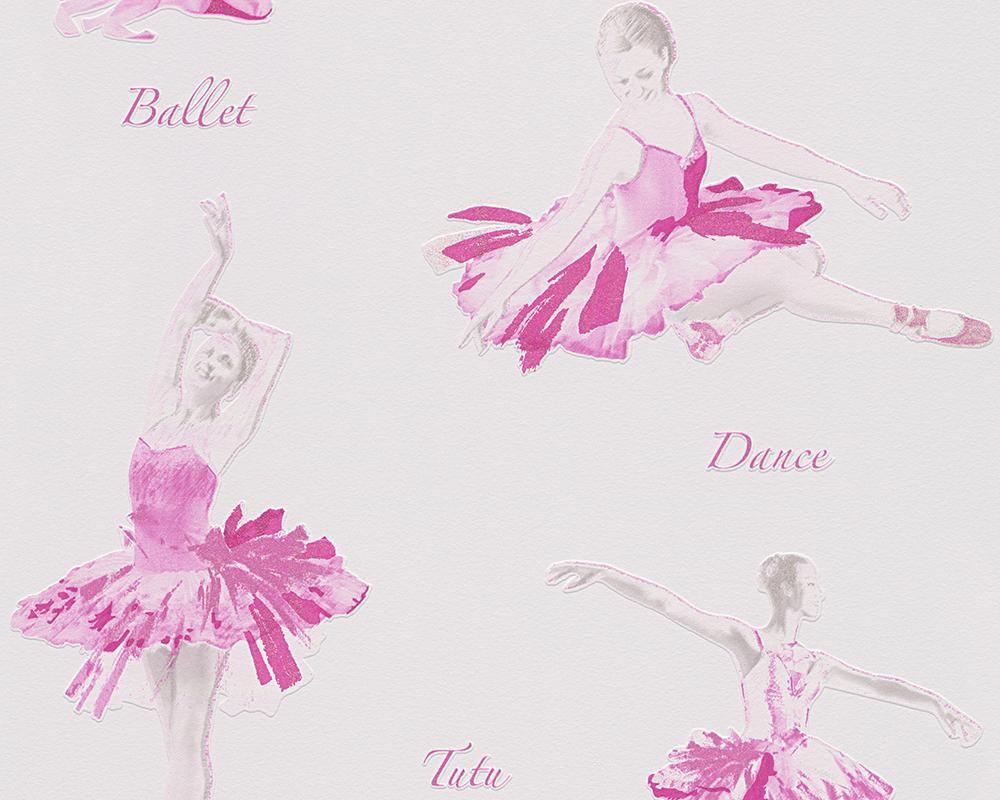 LIVINGWALLS A.S. Creation Papiertapete Boys & Girls 5 Ballett Rosa