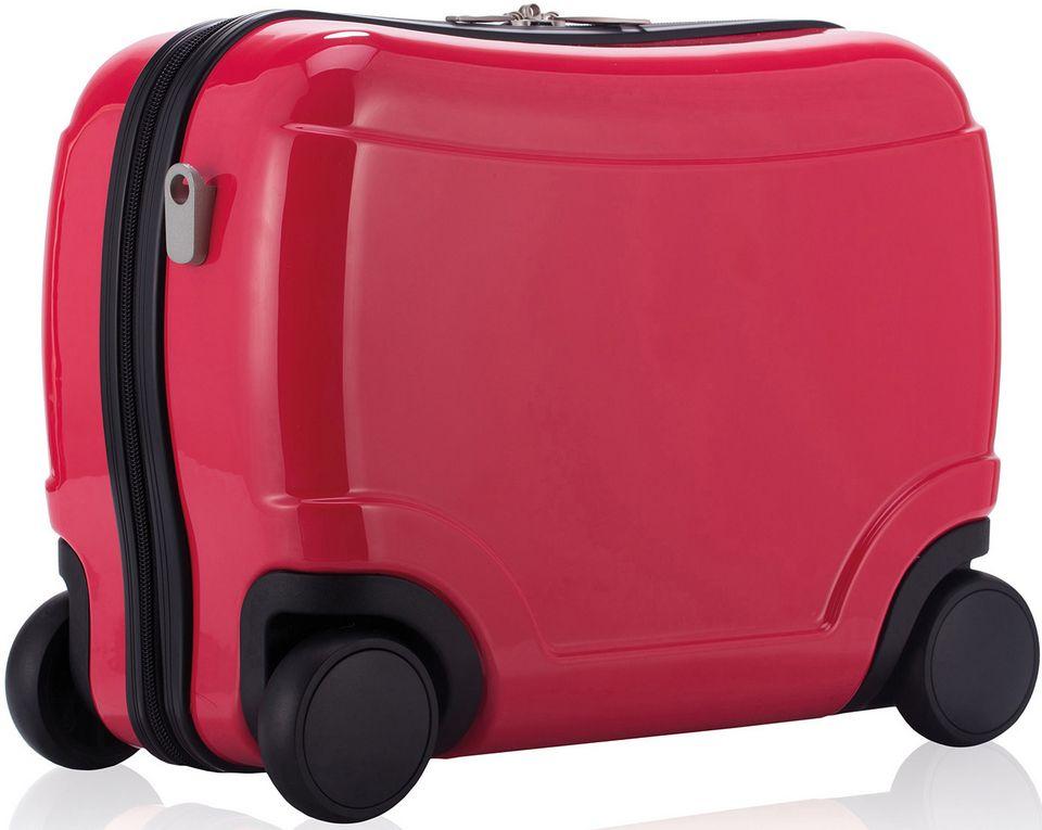 HAUPTSTADTKOFFER  Kinderkoffer mit 4 Rollen, »Kinder SitzTrolley«