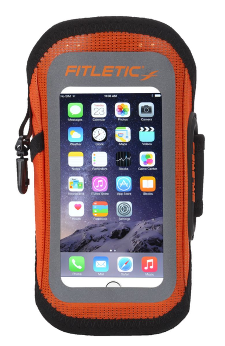 FITLETIC Fitletic Sportarmband »Smartphone Armtasche EASY - Größe L/XL«