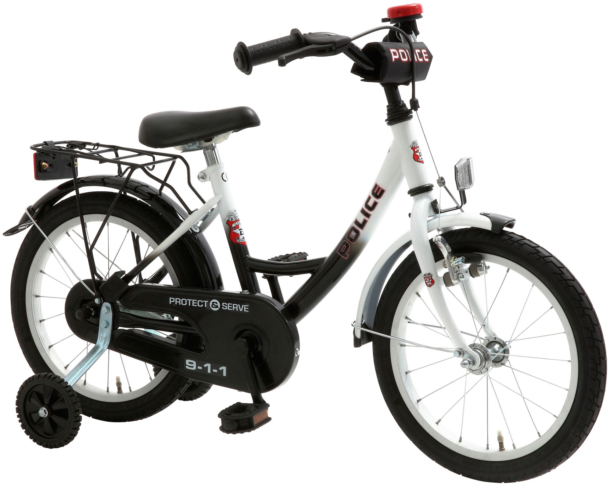 CYCLES4KIDS Cycles4Kids Kinderfahrrad »Police, 45,72 cm (18 Zoll)«