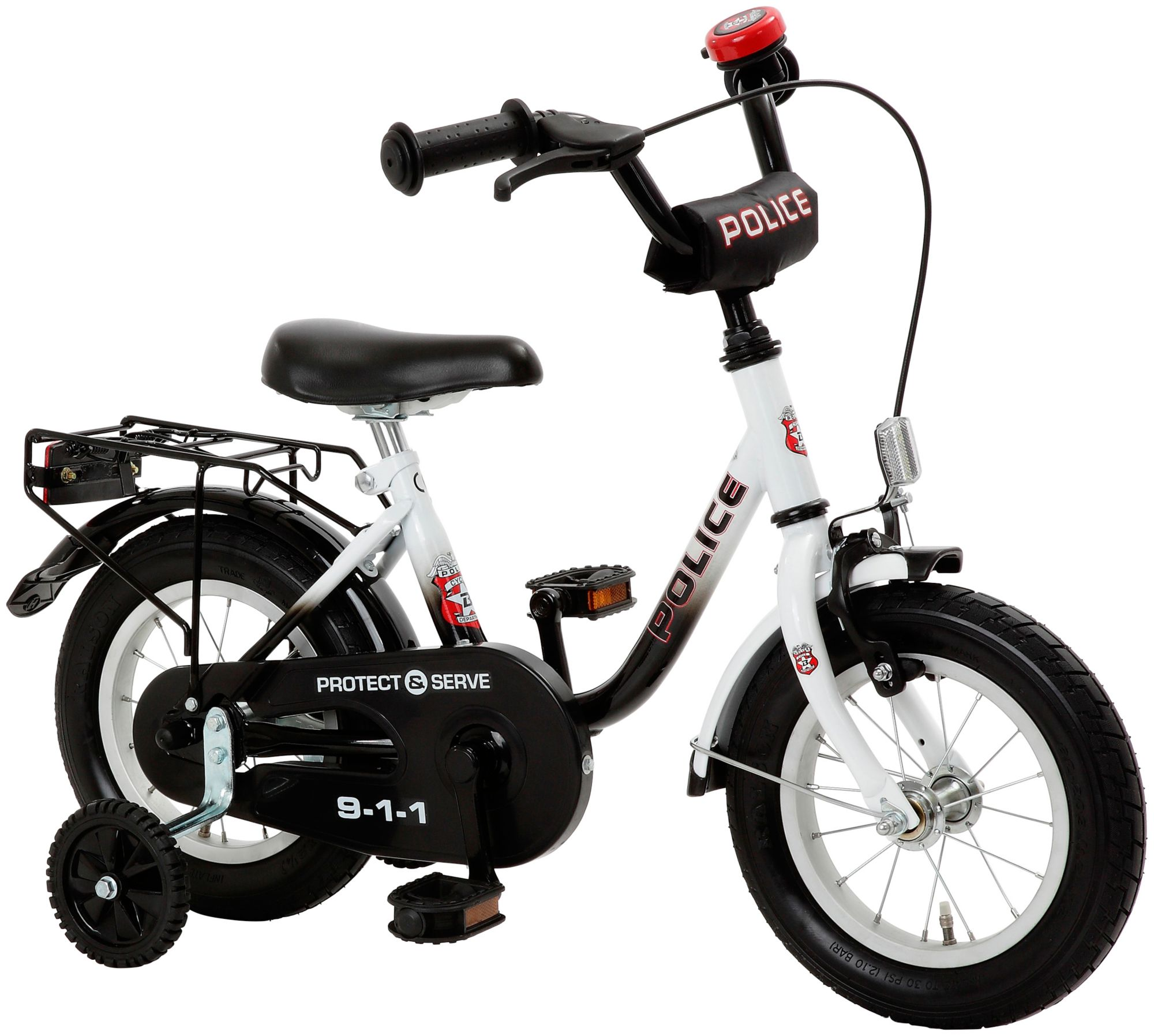CYCLES4KIDS Cycles4Kids Kinderfahrrad »Police, 31,75 cm (12,5 Zoll)«