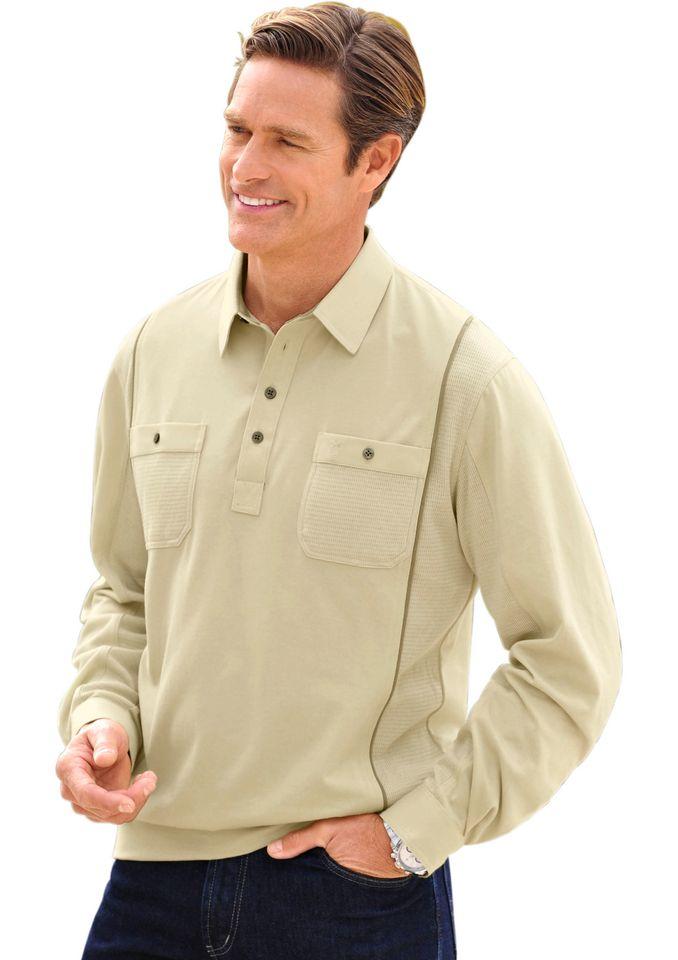 HAJO Hajo Poloshirt aus glattem Single-Jersey