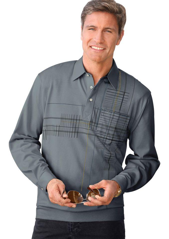 HAJO Hajo Poloshirt mit verstellbarer Kombimanschette