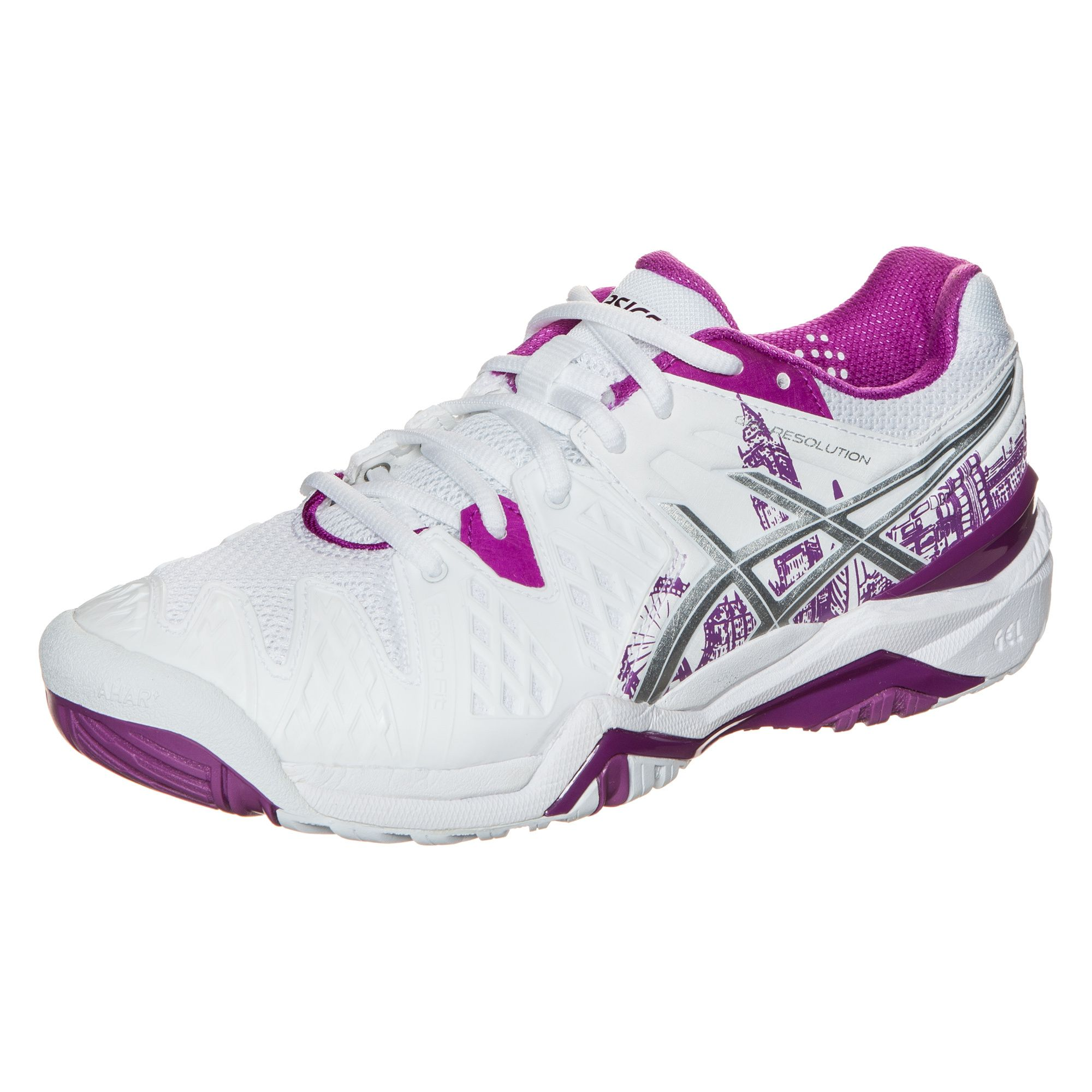 ASICS  Gel-Resolution 6 London Tennisschuh Damen