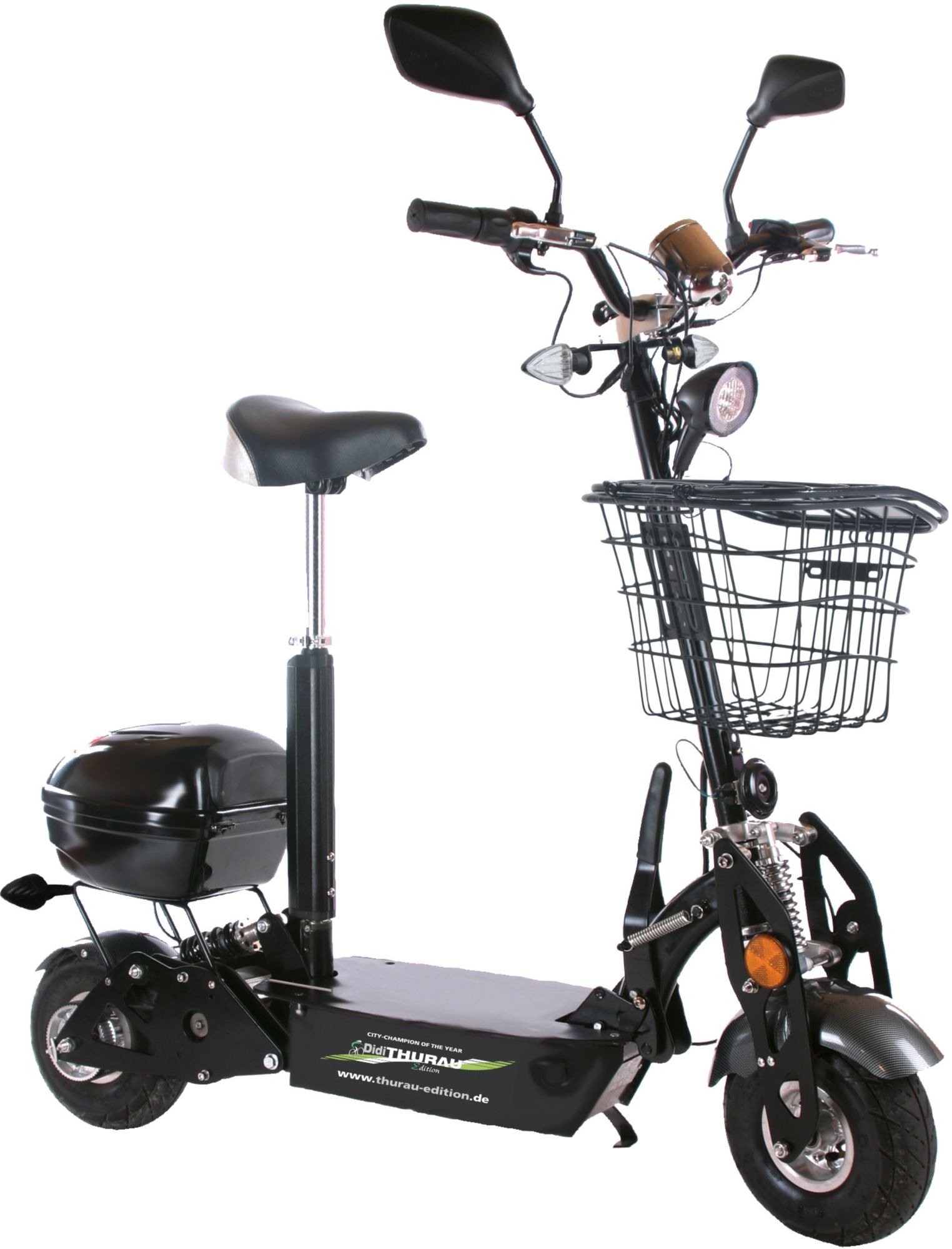 DIDI THURAU EDITION Didi Thurau Edition Elektro City Roller, 20 km/h, »Safety Plus«