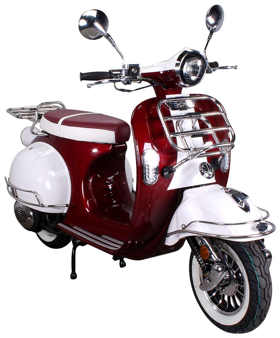 ACTIONBIKES MOTORS Actionbikes Motors Mofa »Retro Star«, 50 ccm, 25 km/h, entdrosselbar
