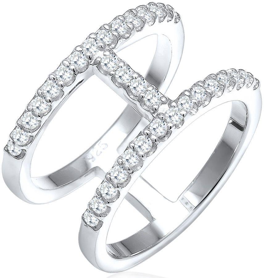ELLI Elli Ring mit Zirkonia, »Geo, 0602360216«