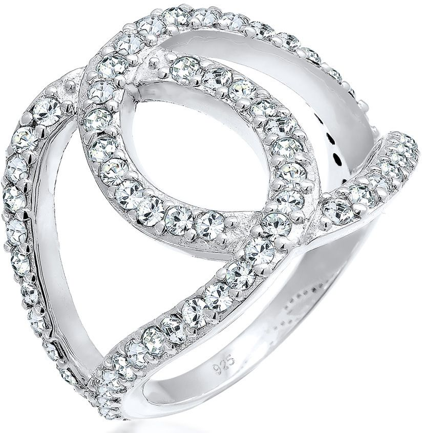 ELLI Elli Ring mit Swarovski® Kristallen, »Love-Knots 0602510216«