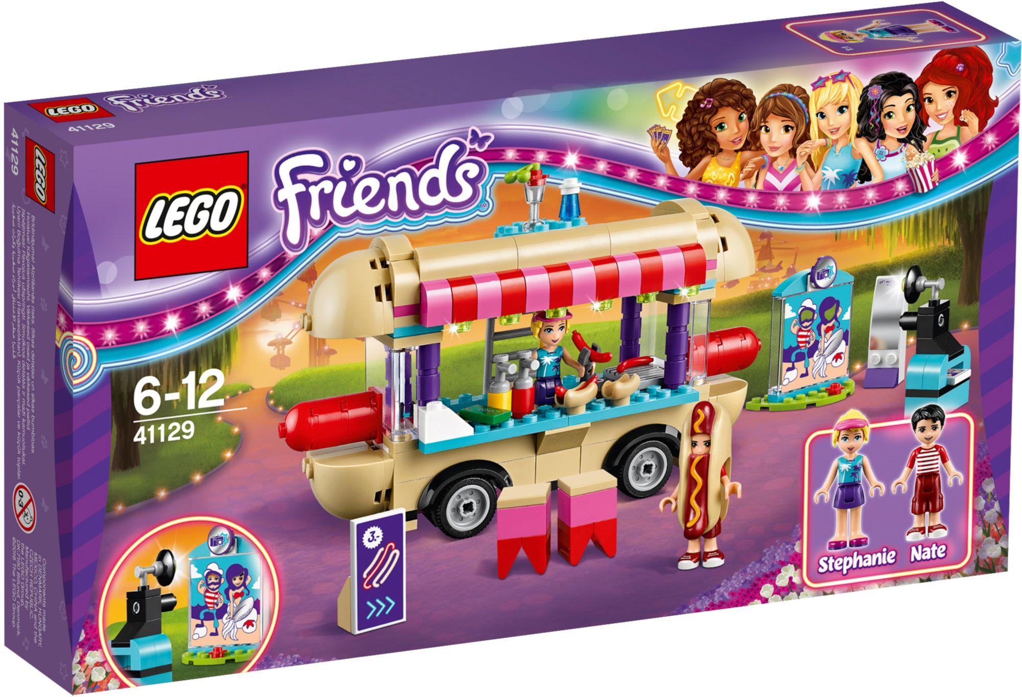 LEGO® 41129 Friends Hot-Dog-Stand im Freizeitpark, Konstruktionsspielzeug