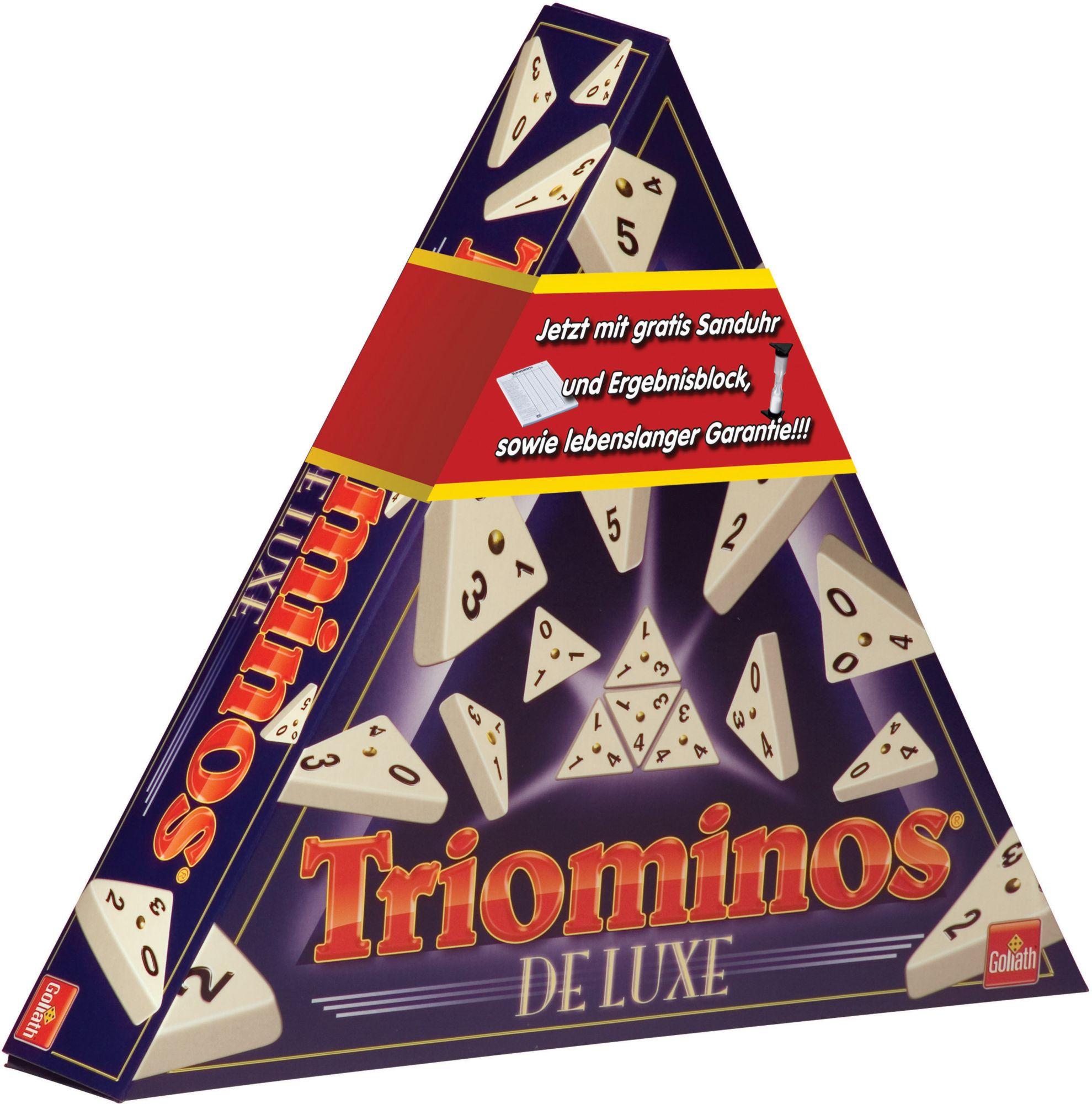 GOLIATH Goliath Logikspiel, »Triominos de Luxe«
