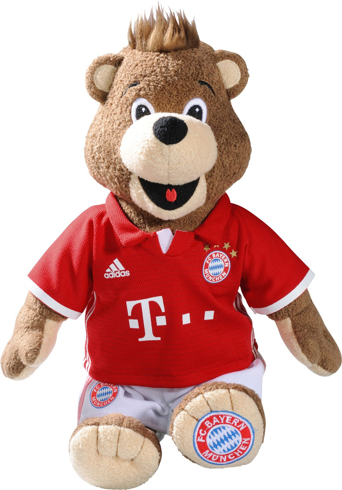 FC BAYERN FC Bayern Plüschtier Teddy 100 cm, »FC Bayern München Maskottchen Berni«