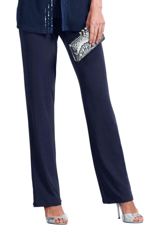 FAIR LADY Fair Lady Jersey-Hose mit geradem Bein