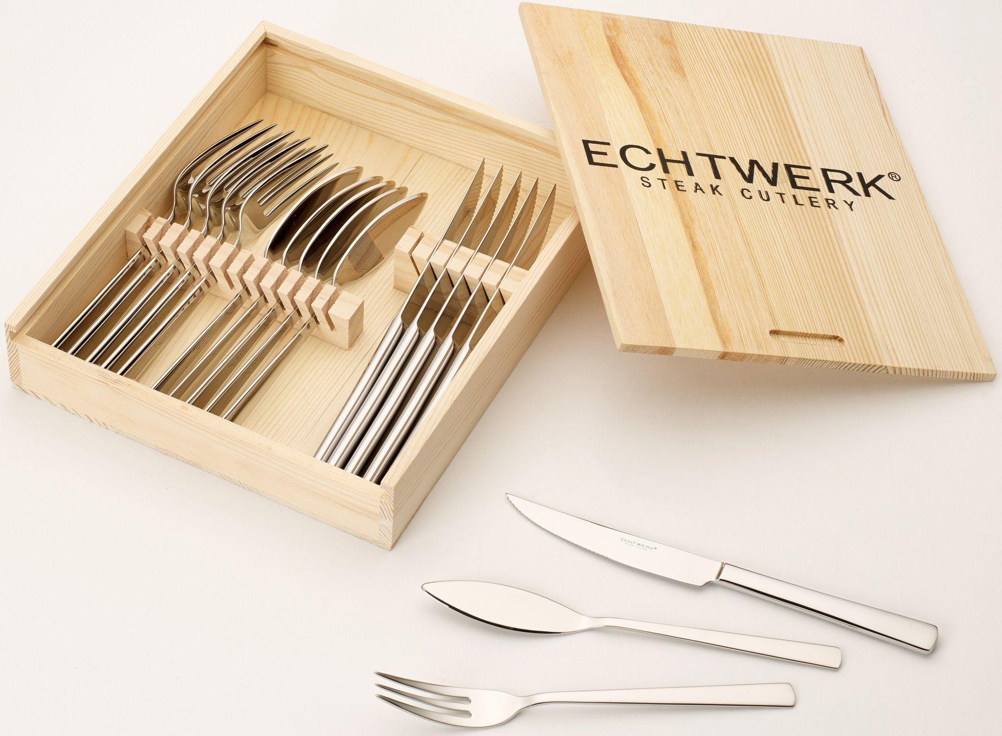ECHTWERK Echtwerk Set: Steakbesteck, »SARRE« (18tlg.)