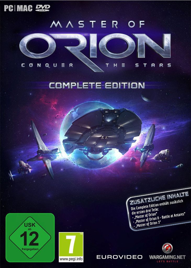 NORDIC GAMES Nordic Games PC - Spiel »Master of Orion - Complete Edition«