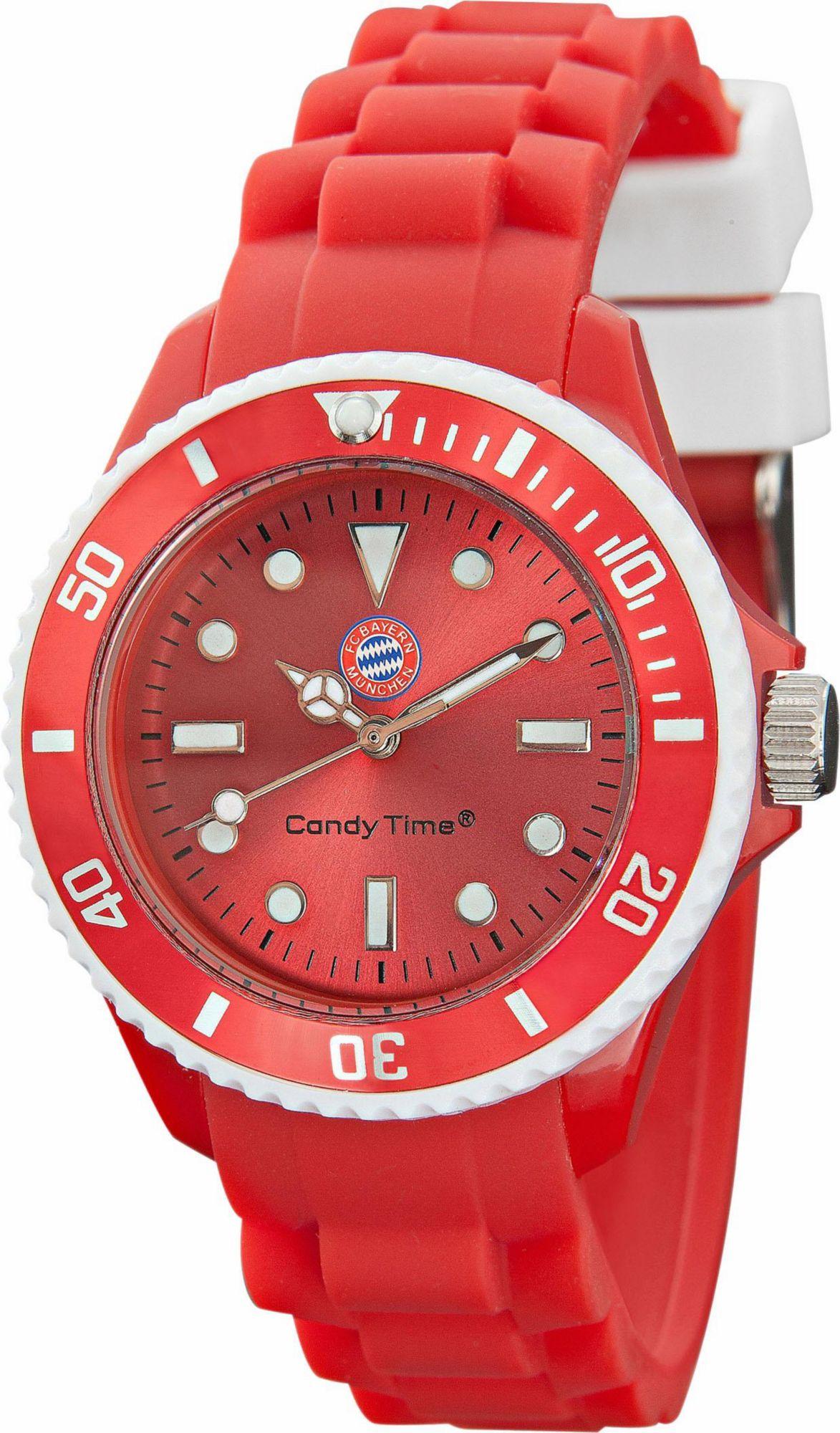 FC BAYERN FC Bayern Quarzuhr »Candy Time, 15551«