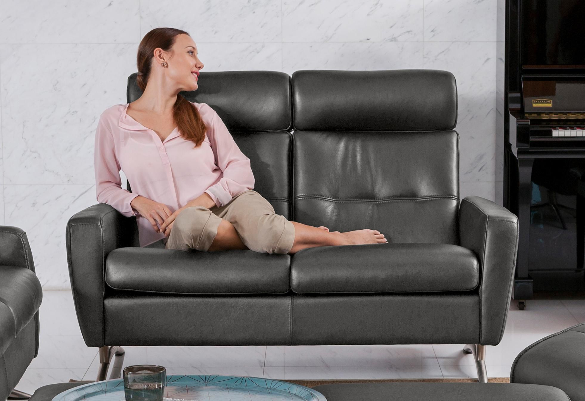 ROOMED 2-Sitzer Comfort Sofa »Stella C100HB«