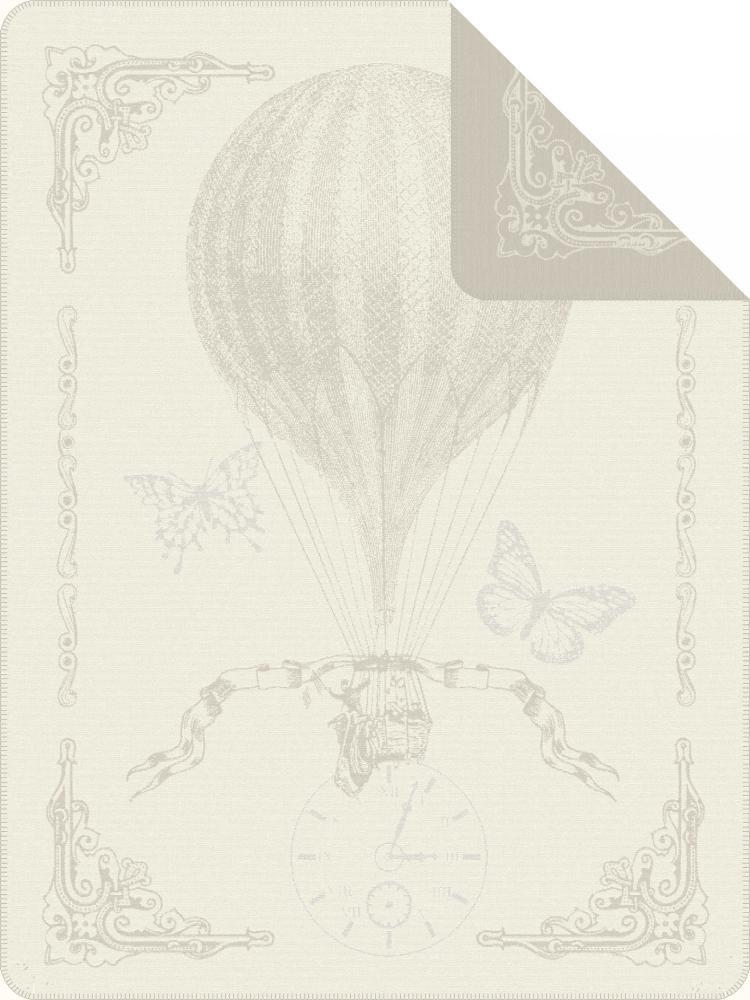 IBENA Wohndecke, Ibena, »Toulouse«, mit Heißluftballon