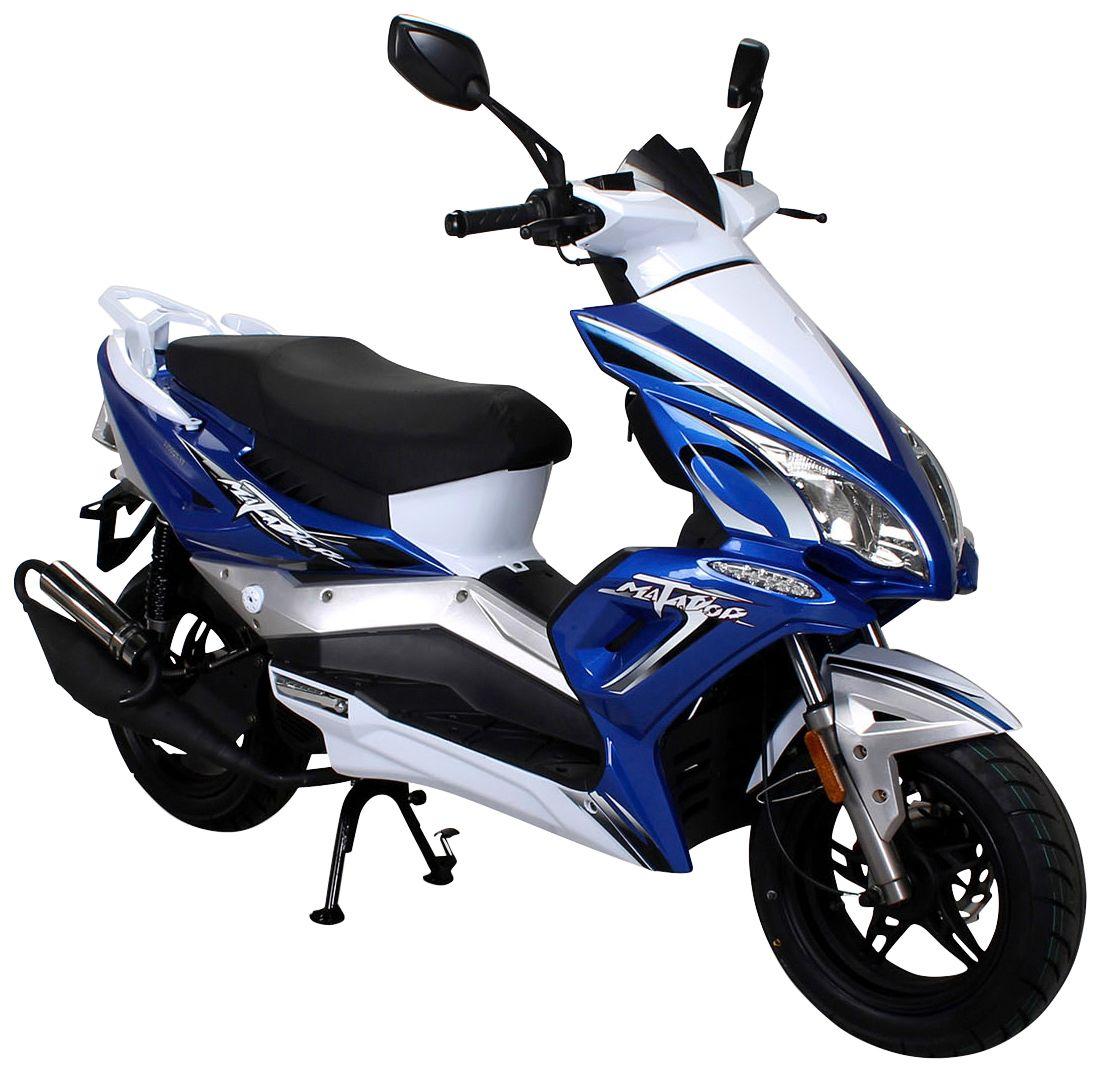 ACTIONBIKES MOTORS Actionbikes Motors Motorroller »Matador «, 50 ccm, 45 km/h, entdrosselbar