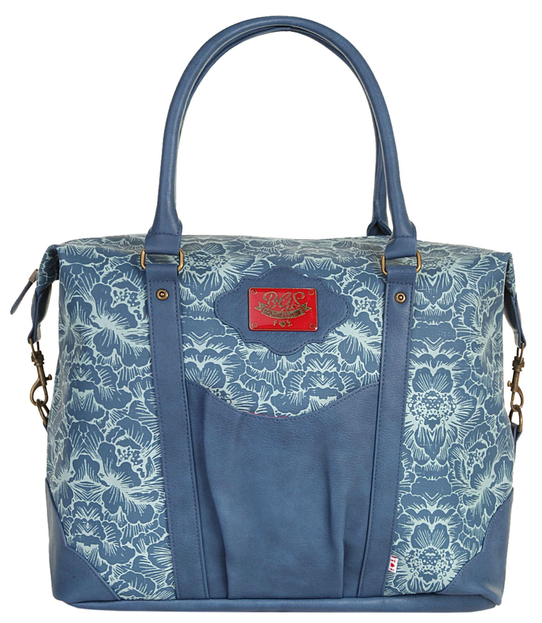 BLUTSGESCHWISTER blutsgeschwister Damen Shopper »travel fever carpetbag«
