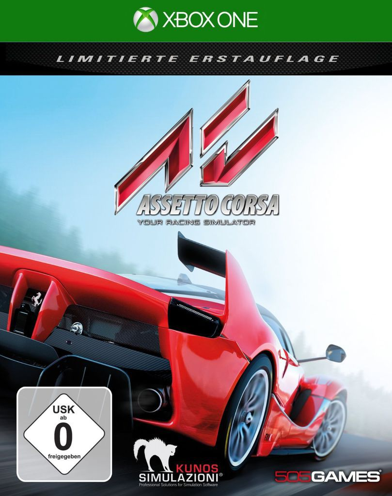 505 GAMES 505 Games XBOX One - Spiel »Assetto Corsa«