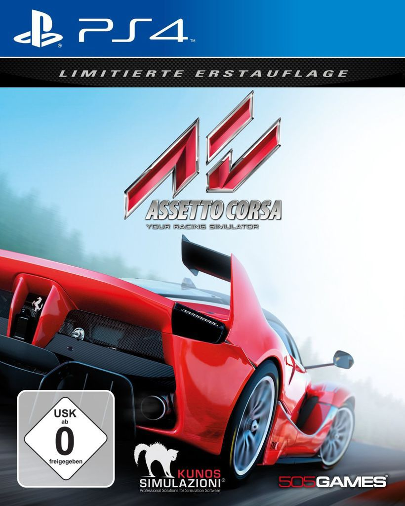 505 GAMES 505 Games Playstation 4 - Spiel »Assetto Corsa«