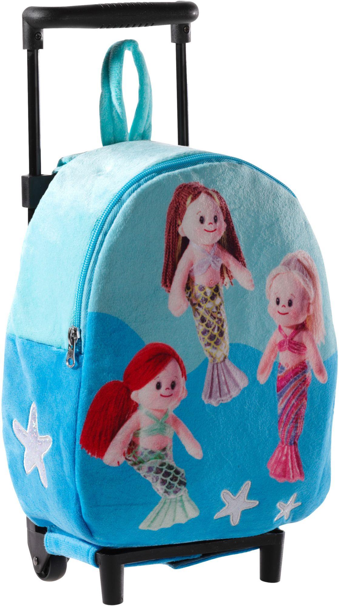 HEUNEC Heunec Kinderkoffer mit Meerjungfrauen, »Trolley Mermaids«
