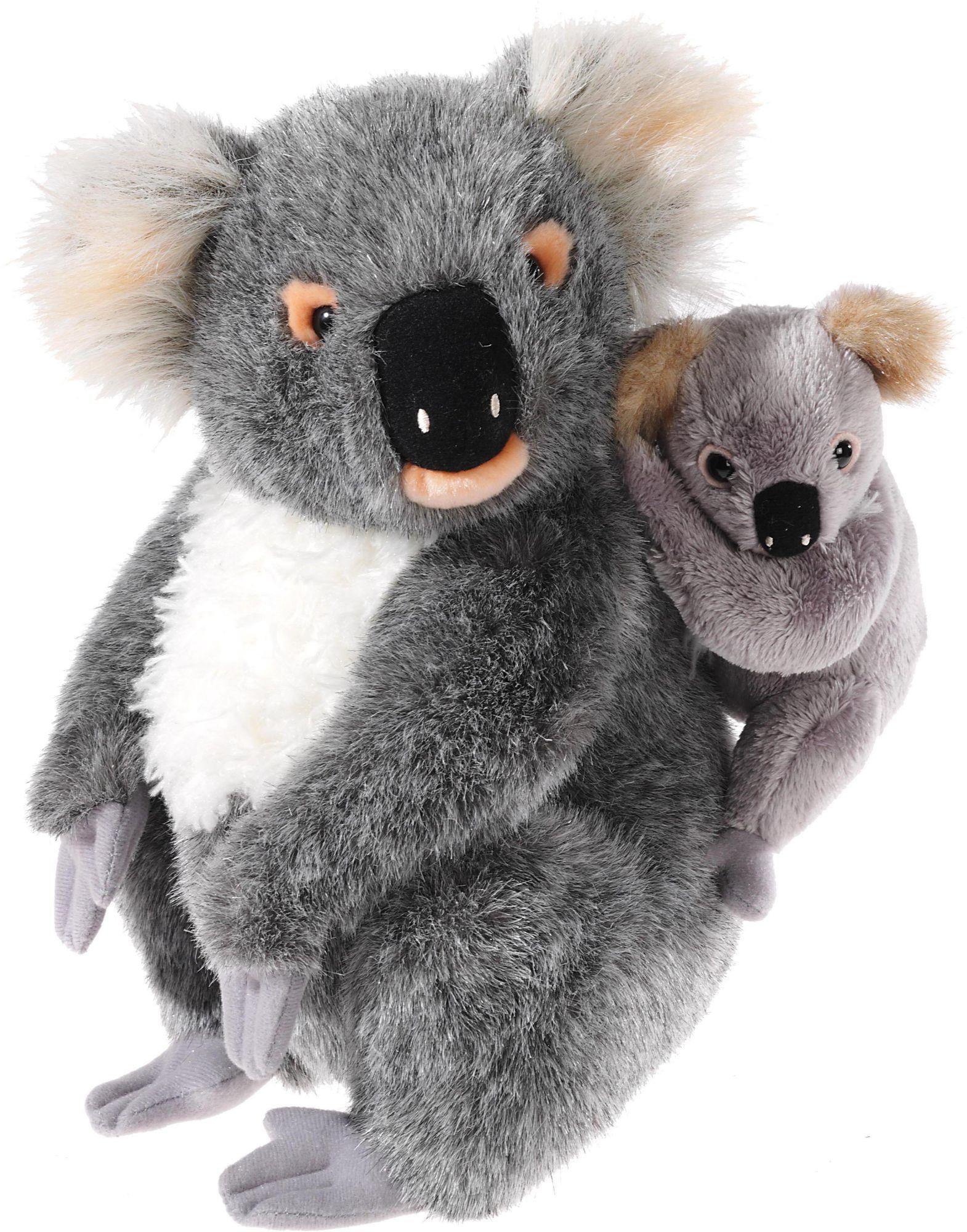 HEUNEC Heunec Kuscheltier, »Mi Classico, Koala Bär mit Baby«