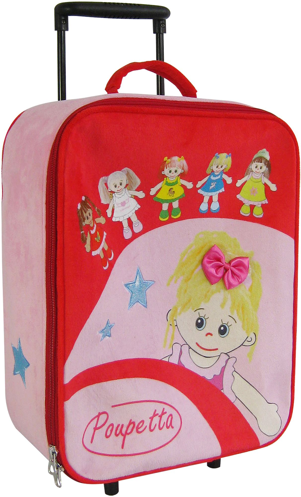 HEUNEC Heunec Kinderkoffer mit Puppenmotiven, »Poupetta Trolley«