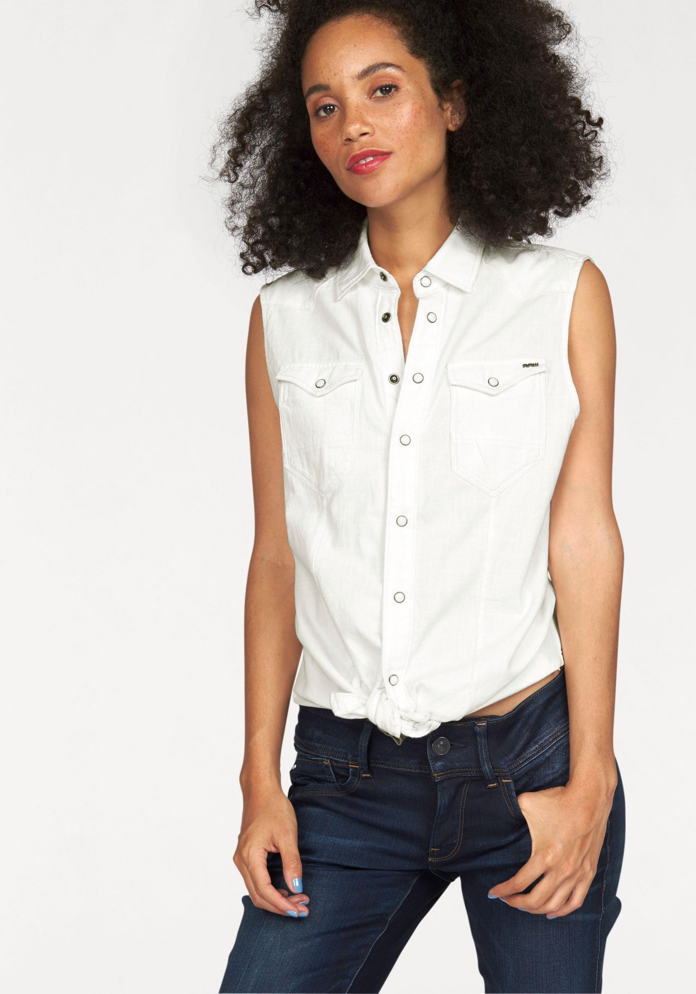 G STAR G-Star Jeansbluse »Tacoma Straight Shirt«