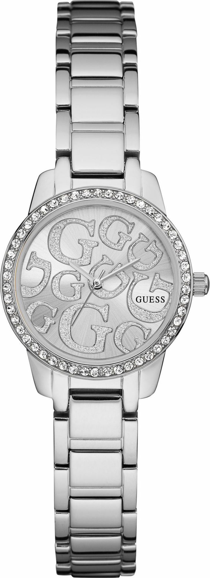 GUESS Damenuhr Ladies Jewelry Guess silber