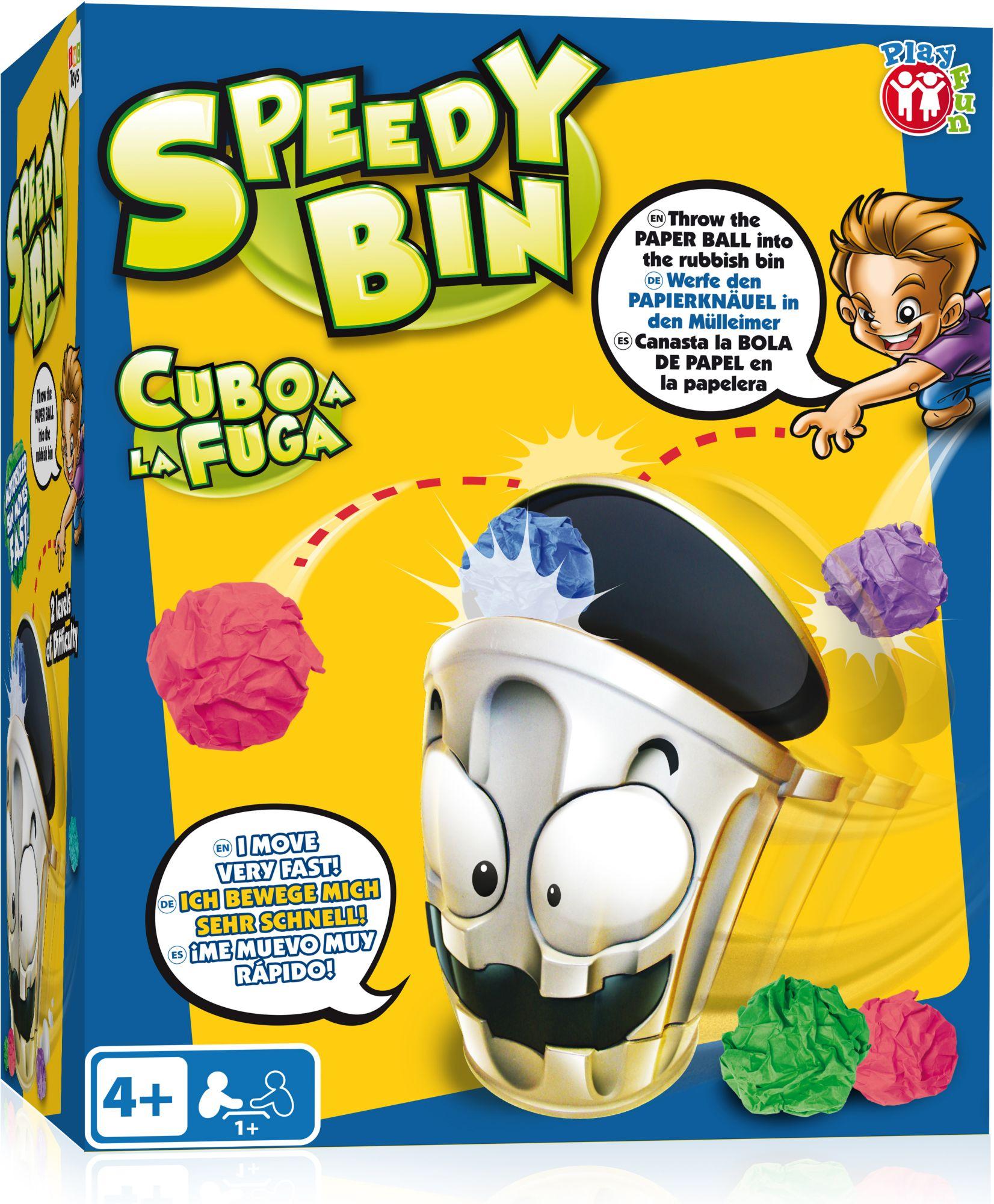 IMC TOYS IMC Toys Wurfspiel, »Schneller Mülleimer Speedy Bin«