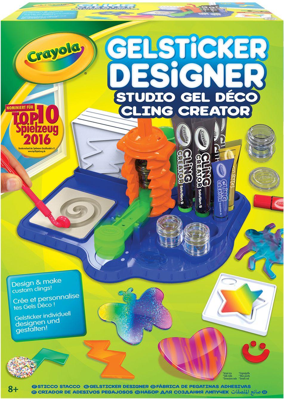 CRAYOLA Crayola Kreativset, »Gelsticker Designer«